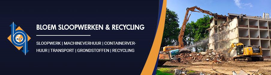Bloem Sloopwerken & Recycling Limburg