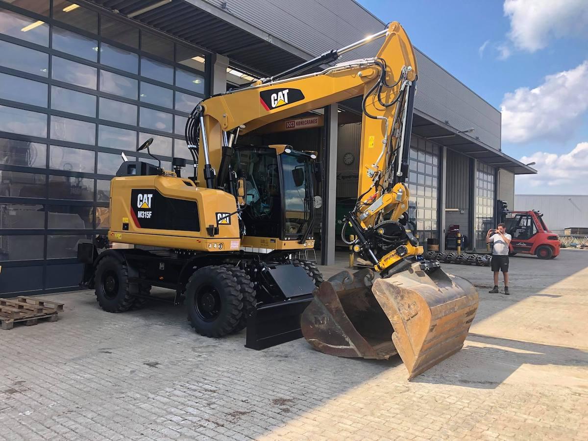 Ongekend Nieuwe CAT M315F voor Bloem Sloopwerken & Recycling - Bloem Group PN-07